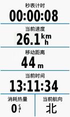 多种骑行信息显示