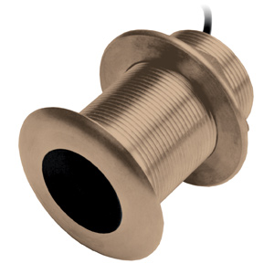 Bronze Thru-Hull Mount Transducer with Depth & Temperature (20° tilt) - Airmar B150M