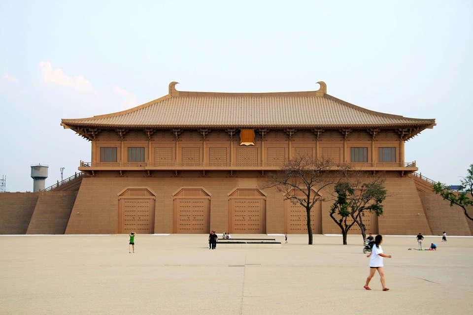 03 西安古风-大唐风韵千载犹存; 古风宫廷背景; 迪拜最大的公园图片图片
